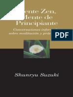 Shunryu Suzuki - Mente Zen, Mente de Principiante