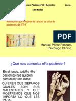 """1""""Relaciones que mejoran la calidad de vida de pacientes de VIH""""."""