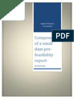 Componenets of a Feasibilty Report
