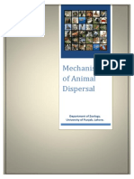 Mechanism of Animal Dispersal