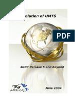 Evolution of UMTS