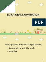 Extra Oral Examination