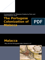 The Portugese Colonization of Malacca