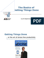 Getting Things Done Basics