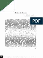 Congreso, de Anquín sobre Grabmann