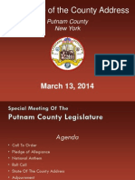 Putnam County State of the County Address Presentation 2014