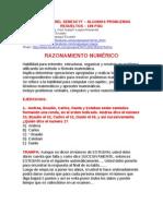 EXAMEN RESUELTO DEL SENESCYT 160 matematicas + 125 lógica lenguaje + 41 gráficos