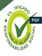 Certificado Responsabilidad Social