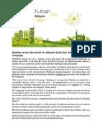 Green Khutbah Press Release 2014