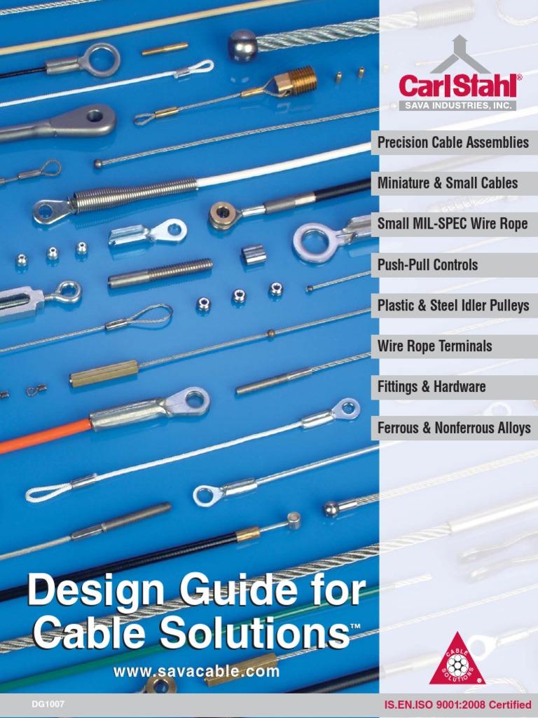 Cables y poleas.pdf | Wire | Engineering Tolerance