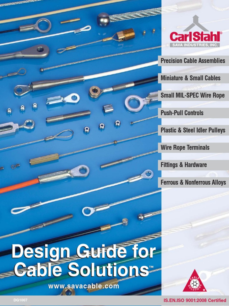 Cables y poleas pdf | Wire | Engineering Tolerance