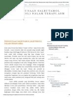 Penggunaan Salbutamol (Albuterol) Dalam Terapi Asm_ Penggunaan Salbutamol (Albuterol) Dalam Terapi Asma
