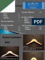 Catálogo De Perchas