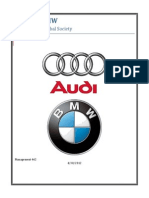 Audi vs Bmw Business in a Global Society
