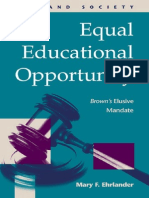 2002 Equal Educational Opportunity