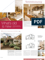 Sanctuary magazine issue 9 - What's old is new - Brunswick, Melbourne green home profile