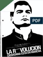 Plan de Gobierno Rafael Correa