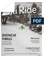 Vermont Ski & Ride, March 2014