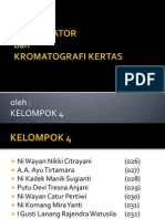 KROMATOGRAFI komparator