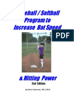 Increasing Bat Speed