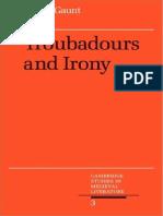 Troubadours and Irony