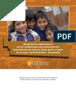 Diagnóstico exploratorio de las condiciones que favorecen las transiciones de niñas y niños de 0 a 7 años en la zona de Pachacutec - Ventanilla