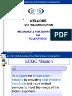 Presentation of ECGC, Kolkata (1)