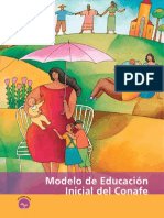 Modelo Educacion Inicial Del CONAFE