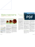 Sanctuary magazine issue 9 - Size Matters - green home feature article