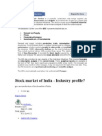 Industry Analysis Service