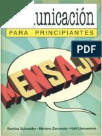 Schnaider Romina Comunicacion Para Principiantes CV1