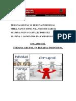 Terapia Grupal vs Terapia Individual