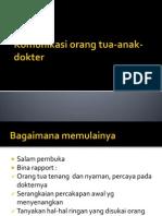 Komunikasi Orang Tua Anak Dokter