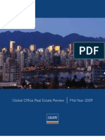 Global Office Real Estate Review Midyear 2009