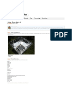 Instructables.com - Solar Oven Mark II