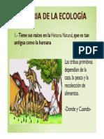 (HISTORIA DE LA ECOLOGÍA)
