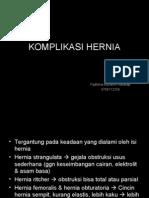 Komplikasi Hernia Lina