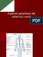 Explorari Paraclinice Ale Sistemului Venos