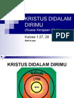 KRISTUS DIDALAM DIRIMU, by. hani p