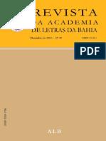 Revista Da Academia de Letras Wilson Lins