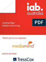 TARGETING MOBILE AUSTRALIA :The biggest opportunity in APAC region