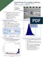 Probabilistic Aerothermal design of gas turbine combustors