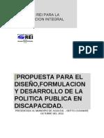 Propuesta Pol Pub Gobernacion Casanare 2012