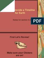 rocks provide a timeline for earth notes 4 2 for website