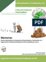 1erForoVVGEI_Memorias_06032012