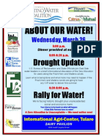 Tulare Water Rally - 3/26/14