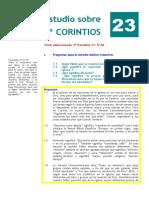 1º Corintios. Estudio 23