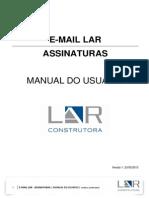 Manual Assinatura Email LAR