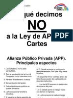 Por que decimos NO a la ley de APP de Cartes?