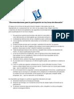 Recomendaciones_foros